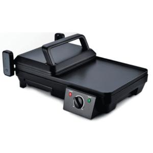 Скара Rohnson R 2380, Мощност 2000 W, Незалепващо покритие, Черна